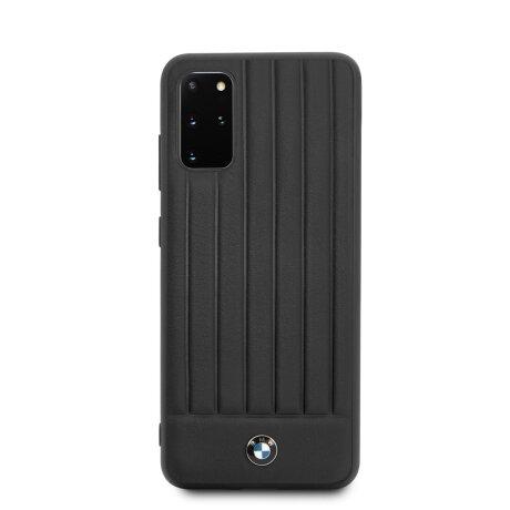 Husa Cover BMW Leather Signature pentru Samsung Galaxy S20 Plus Black