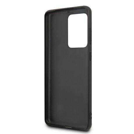 Husa Cover BMW Leather Signature pentru Samsung Galaxy S20 Ultra Black
