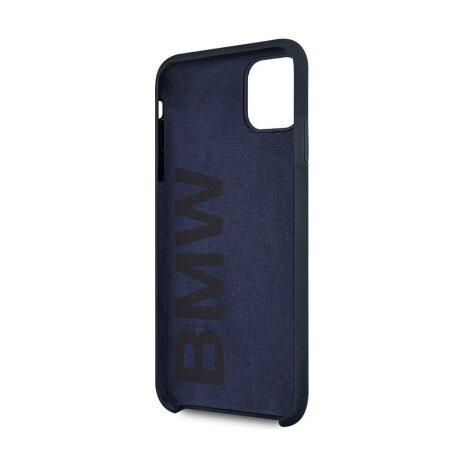 Husa Cover BMW Silicone Kryt pentru iPhone 11 Pro Max Blue