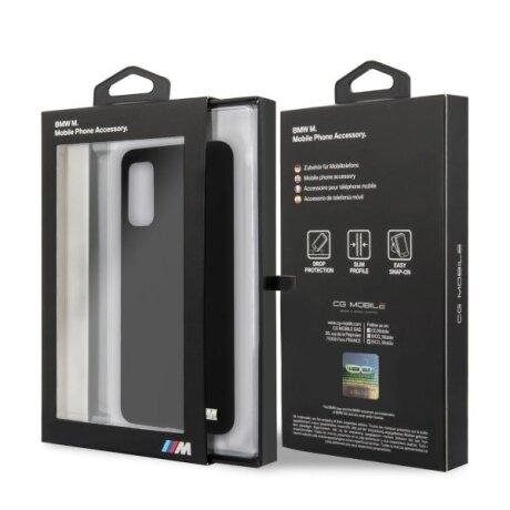 Husa Cover BMW Silicone M Collection pentru Samsung Galaxy S20 Black