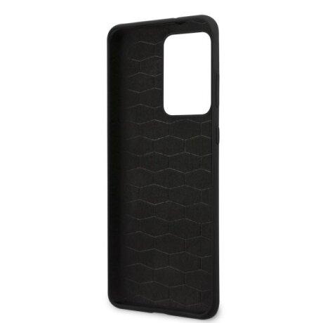 Husa Cover BMW Silicone M Collection pentru Samsung Galaxy S20 Ultra Black
