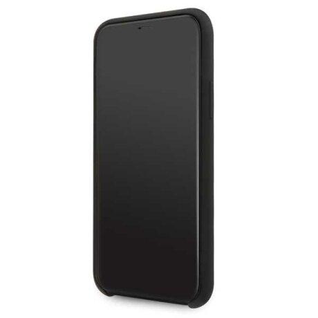 Husa Cover BMW Silicone pentru iPhone 11 Black