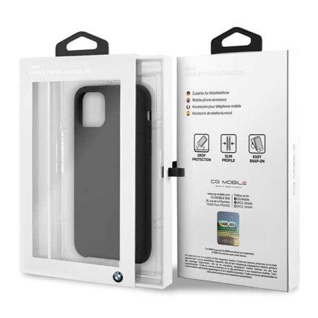 Husa Cover BMW Silicone pentru iPhone 11 Pro Black