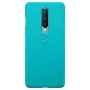Husa Cover  Bumper Sandstone pentru OnePlus 8, Albastru
