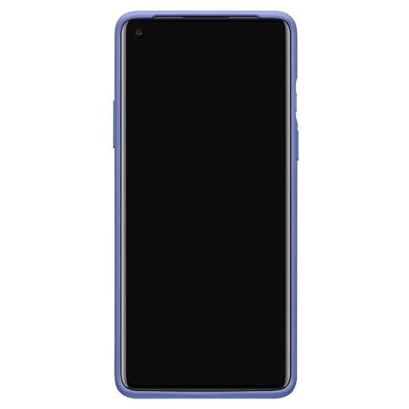 Husa Cover Bumper Sandstone pentru OnePlus 8, Mov