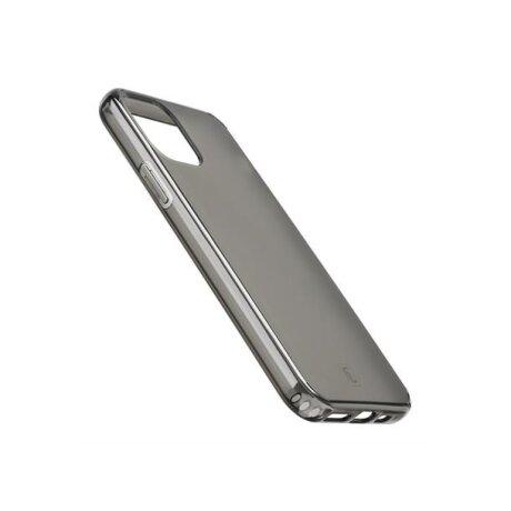 Husa Cover Cellularline Hard Antimicrobial pentru iPhone 11 Fumuriu