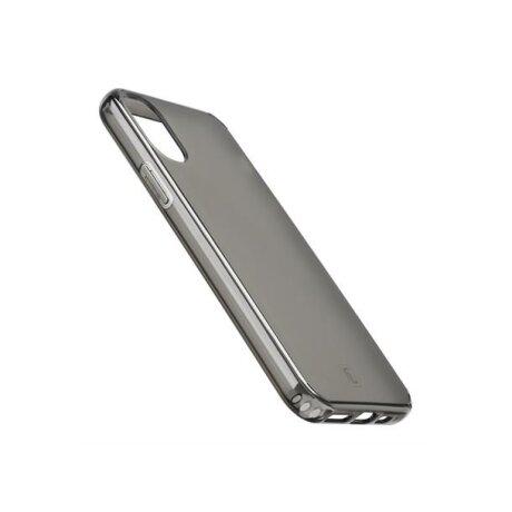 Husa Cover Cellularline Hard Antimicrobial pentru iPhone XR Fumuriu