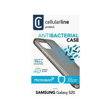 Husa Cover Cellularline Hard Antimicrobial pentru Samsung Galaxy S20