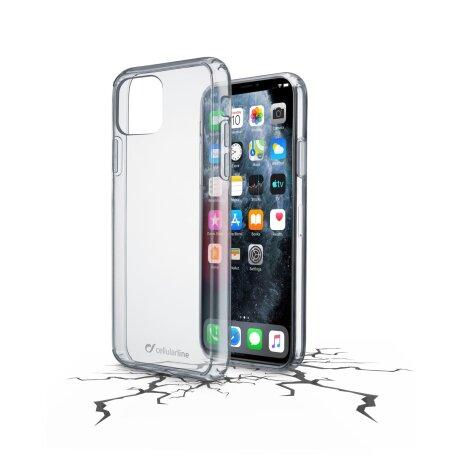 Husa Cover Cellularline Hard pentru iPhone 11 Pro Transparent