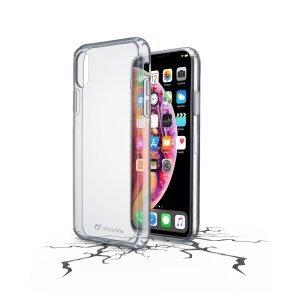 Husa Cover Cellularline Hard pentru iPhone XR Transparent