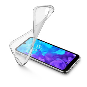 Husa Cover Cellularline Silicon Slim  Huawei Y5 2019 Transparent