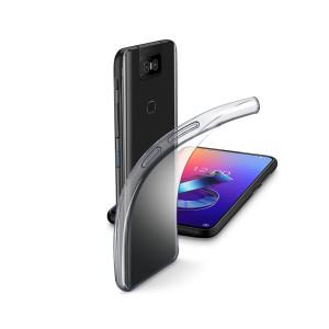 Husa Cover Cellularline Silicon slim pentru Asus Zenfone 6 Transparent