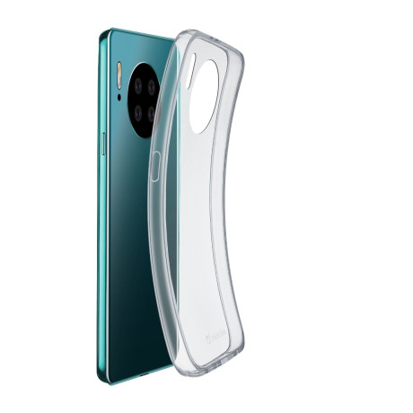 Husa Cover Cellularline Silicon slim pentru Huawei Mate 30 Transparent