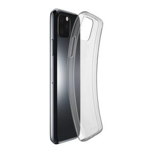 Husa Cover Cellularline Silicon slim pentru iPhone 11 Pro Max Transparent