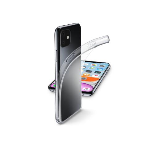 Husa Cover Cellularline Silicon slim pentru iPhone 11 Transparent