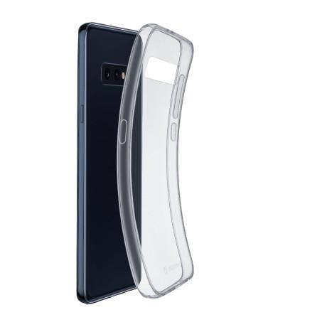 Husa Cover Cellularline Silicon slim pentru Samsung Galaxy S10 Lite Transparent