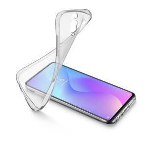 Husa Cover Cellularline Silicon slim pentru Xiaomi Mi 9T/9T Pro Transparent