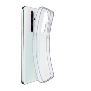 Husa Cover Cellularline Silicon slim pentru Xiaomi Redmi Note 8 Pro Transparent