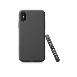 Husa Cover Cellularline Silicon Soft pentru iPhone Xr Negru