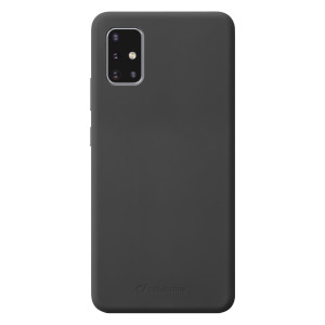 Husa Cover Cellularline Silicon Soft pentru Samsung Galaxy A51 Negru