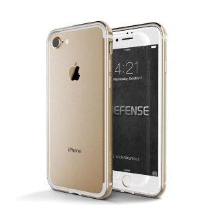 Husa Bumper Defense Edge Pentru iPhone 7/8/Se 2 Gold