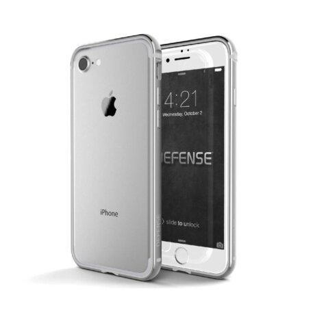 Husa Cover Defense Edge pentru iPhone 7/8/SE 2 Silver