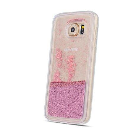 Husa Cover Fashion Liquid pentru Samsung Galaxy A41 Roz