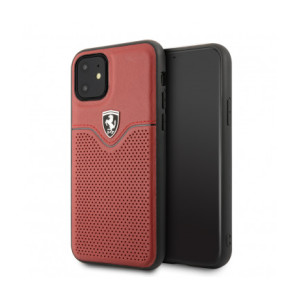 Husa Cover Ferrari Victory TPU pentru iPhone 11 FEOVEHCN61RE Red