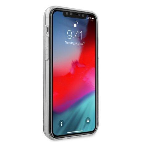 GUHCP12LLG4GGBLPI Guess 4G Liquid Glitter Zadni Kryt pro iPhone 12 Pro Max 6.7 Iridescent