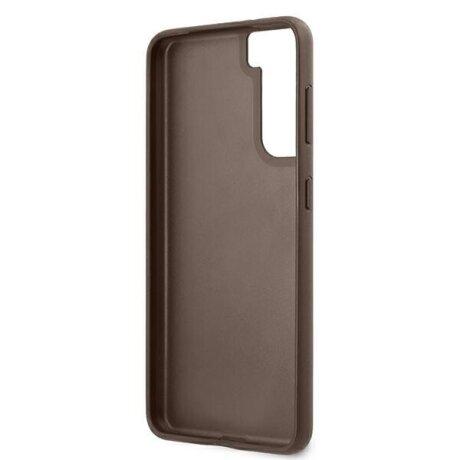 GUHCS21MG4GFBR Guess 4G Zadni Kryt pro Samsung Galaxy S21+ Brown