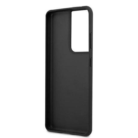 Husa Cover Guess 4G pentru Samsung Galaxy S21 Ultra Grey