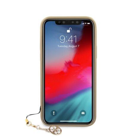 Husa Cover Guess Charms pentru iPhone 12 Mini Grey