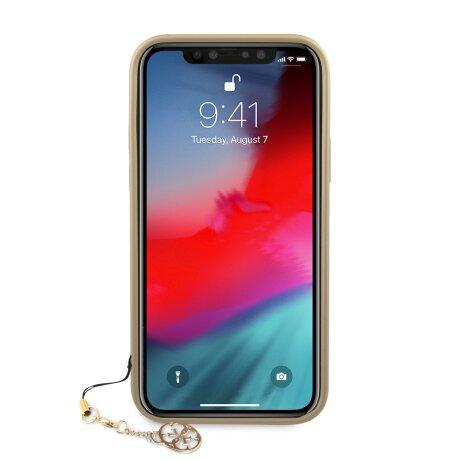 Husa Cover Guess Charms pentru iPhone 12 Pro Max Grey