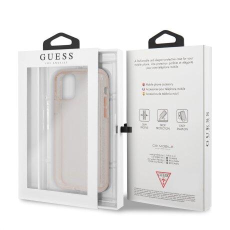 Husa Cover Guess Croco pentru iPhone 11 Pro Max Roz
