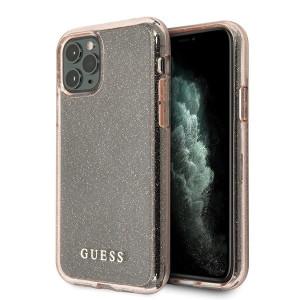 Husa Cover Guess Glitter Circle pentru iPhone 11 Pro Pink