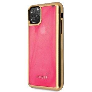 Husa Cover Guess Glow in The Dark pentru iPhone 11 Pro Roz
