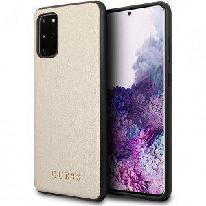 Husa Cover Guess Iridescent pentru Samsung Galaxy S20 Plus Gold
