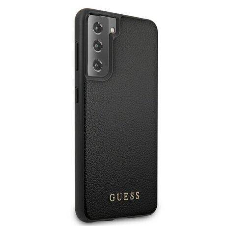 Husa Cover Guess Iridescent pentru Samsung Galaxy S21 Plus Black