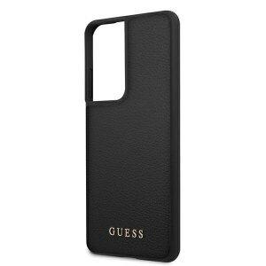 Husa Cover Guess Iridescent pentru Samsung Galaxy S21 Ultra Black
