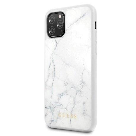 Husa Cover Guess Marble pentru iPhone 11 Pro White