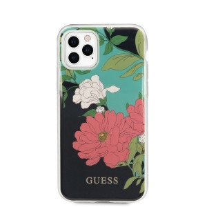 Husa Cover Guess N*1 Flower pentru iPhone 11 Pro Negru