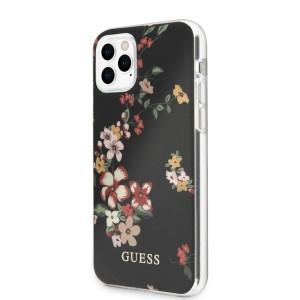 Husa Cover Guess N*4 Flower pentru iPhone 11 Pro, Negru
