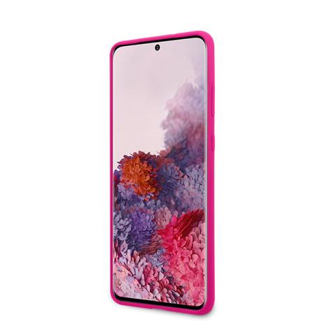 Husa Cover Guess Silicone Tone pentru Samsung Galaxy S20 Roz
