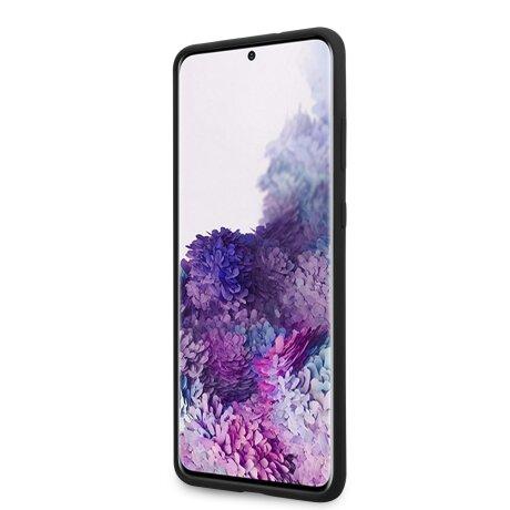 Husa Cover Guess Silicone Tone pentru Samsung Galaxy S20 Plus Negru