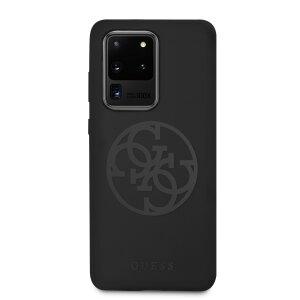 Husa Cover Guess Silicone Tone pentru Samsung Galaxy S20 Ultra Negru
