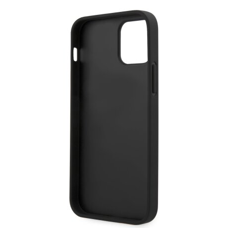 Husa Cover Guess V Quilted pentru iPhone 12 Pro Max Black