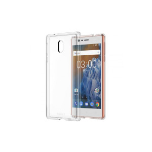 Husa Cover Hard Nokia Hybrid Crystal pentru Nokia 3 Transparent