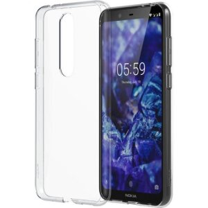 Husa Cover Hard Nokia pentru Nokia 5.1 Plus Transparent