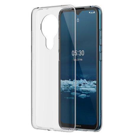 Husa Cover Hard Nokia pentru Nokia 5.3 Transparent