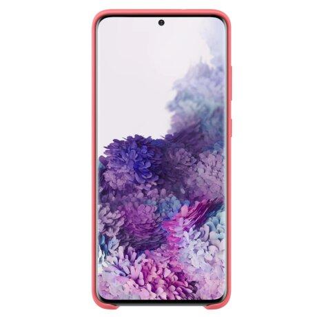 Husa Cover Hard Samsung Kvadrat pentru Samsung Galaxy S20 Plus Rosu